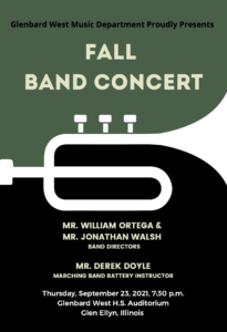 Click here to access the Fall Band Concert Program!