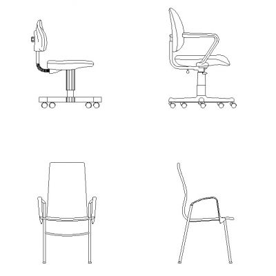 Cool Designer Chair Cad Block Decorticosis Creativecarmelina Interior Chair Design Creativecarmelinacom