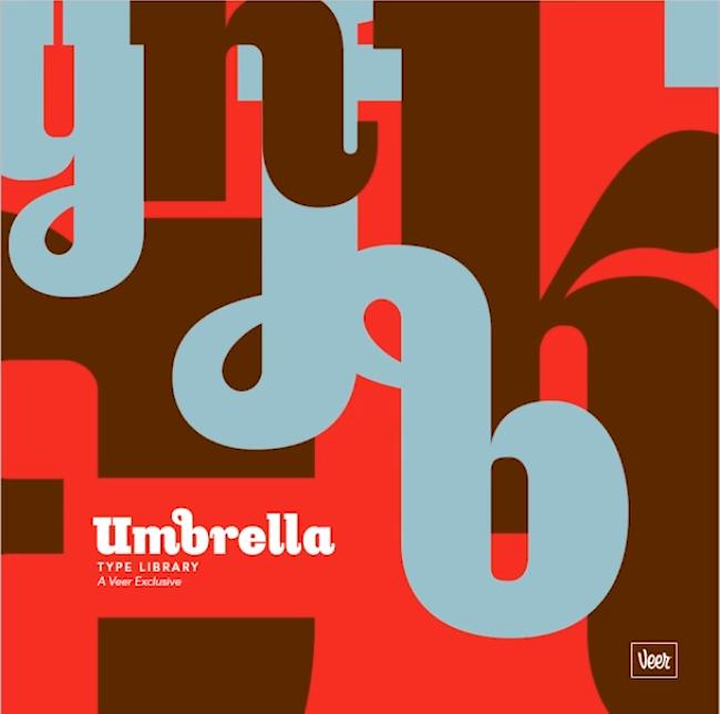 biblioteca de fontes Umbrella