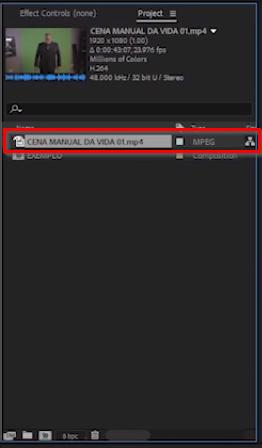 importação de arquivo base