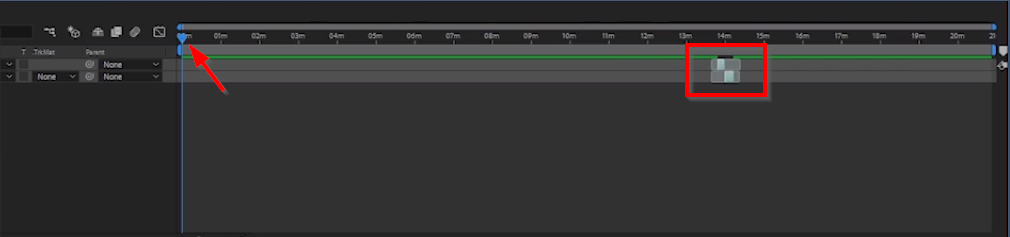 projeto colado After Effects
