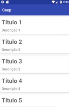 """notas numeradas: """"Título 1"""", """"Título 2"""" até """"Título 9"""" em sequência"""