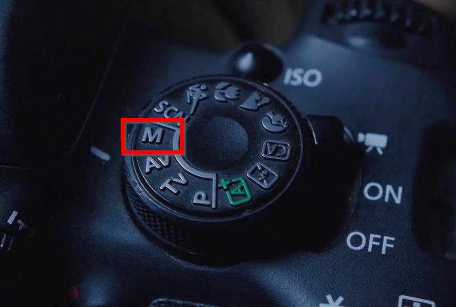 Ajustando a câmera em M