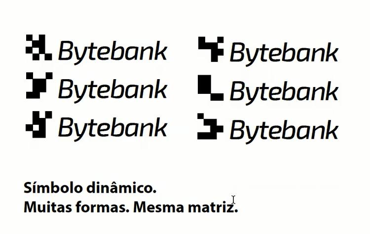 opcoes de logo dinamico do bytebank