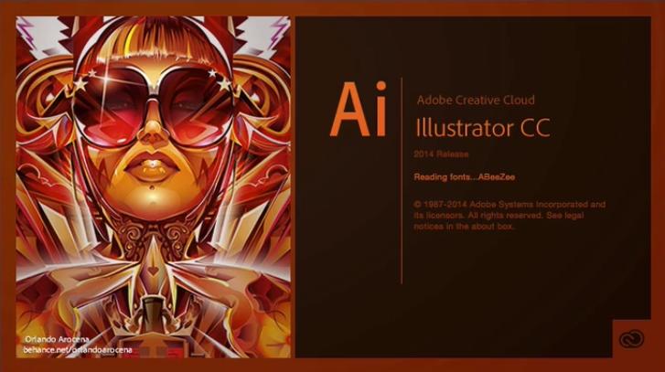 Illustrator abre