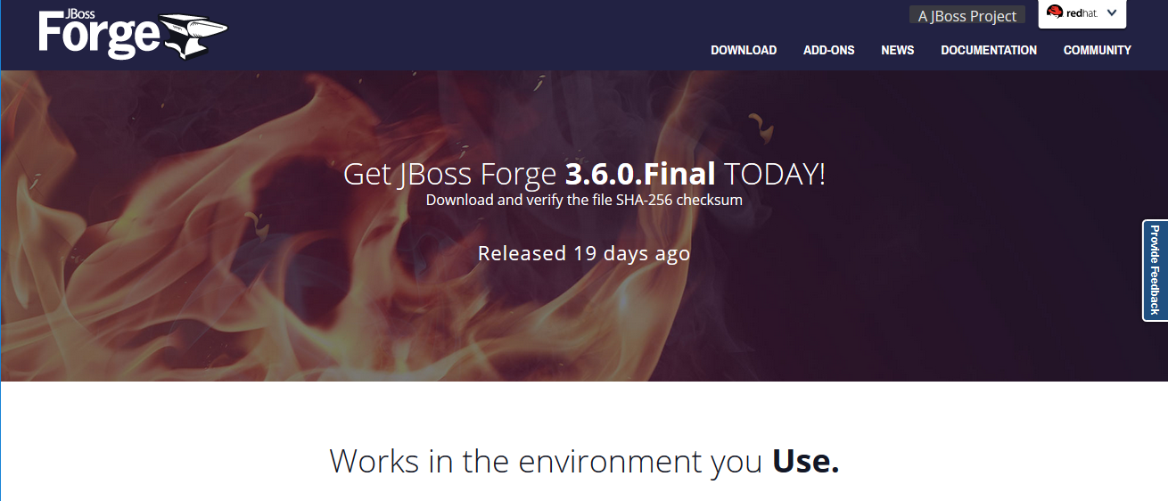 JBoss Forge
