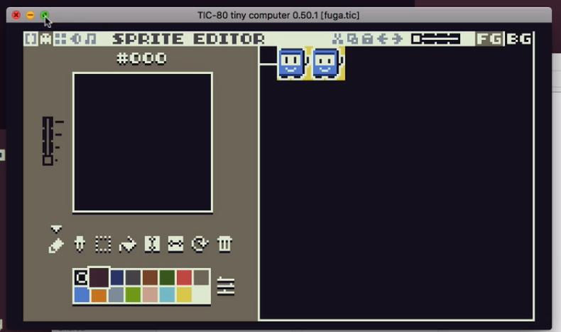 editor de imagem aberto em uma janela