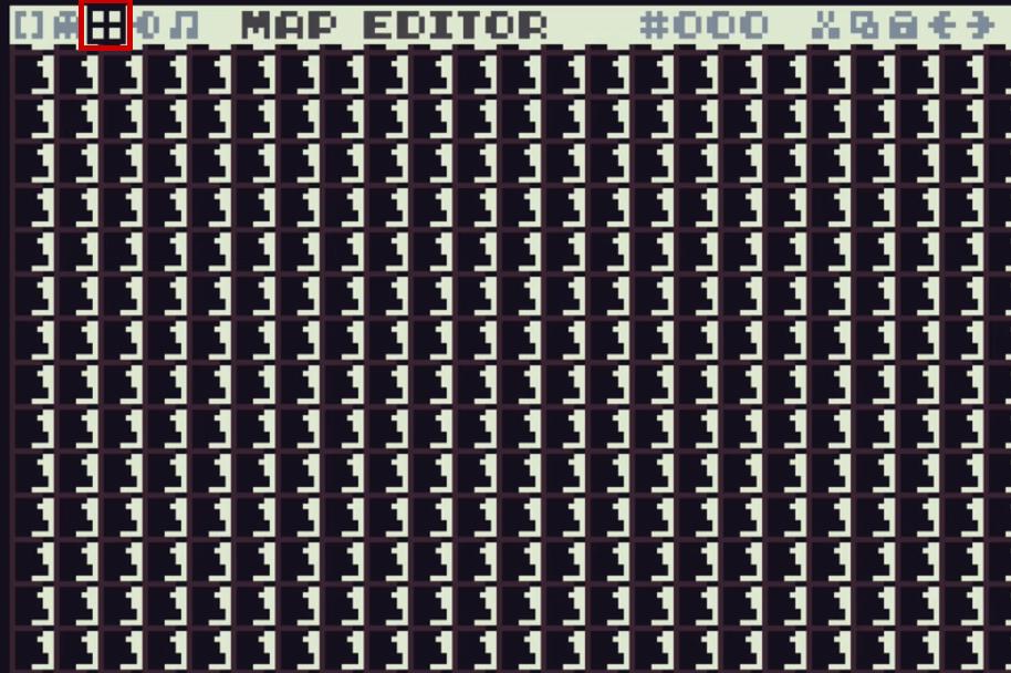 padrão formado de símbolo pequenos em pixels