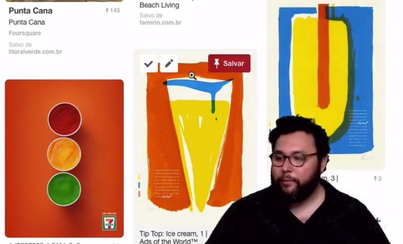 referencia de paletas de cores