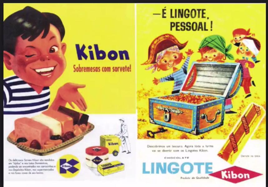 anuncio antigo da kibbon