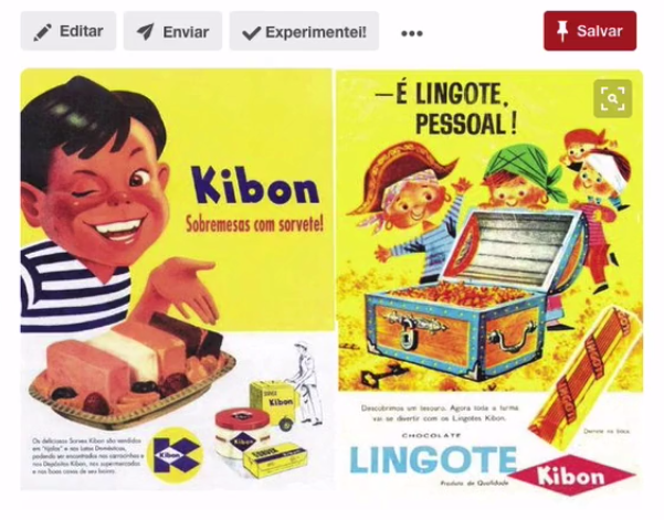 propaganda classica da kibon