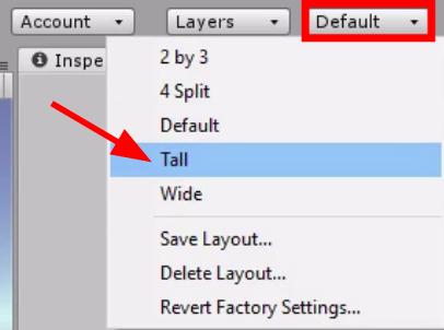 Default tall