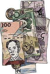 Latin-American currencies