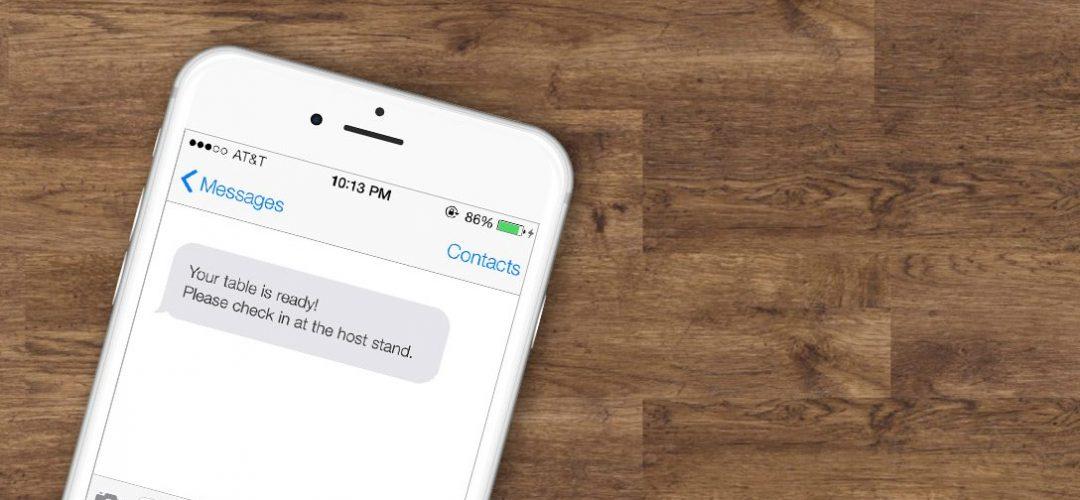Mobile Restaurant Wait List Paging System
