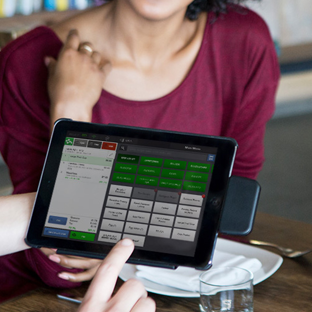 CAKE Orderpad tablet POS