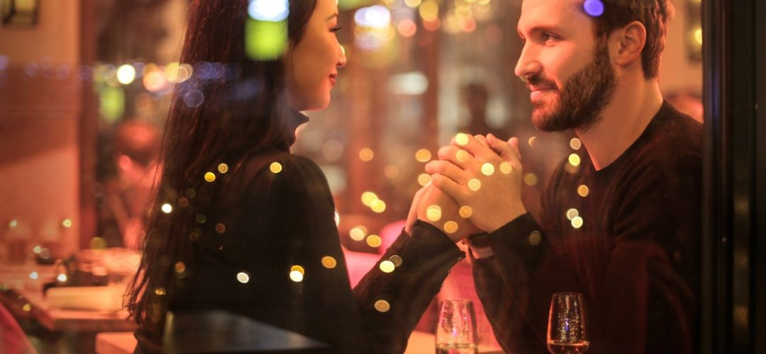 restaurant atmosphere with reservations for valentine's day