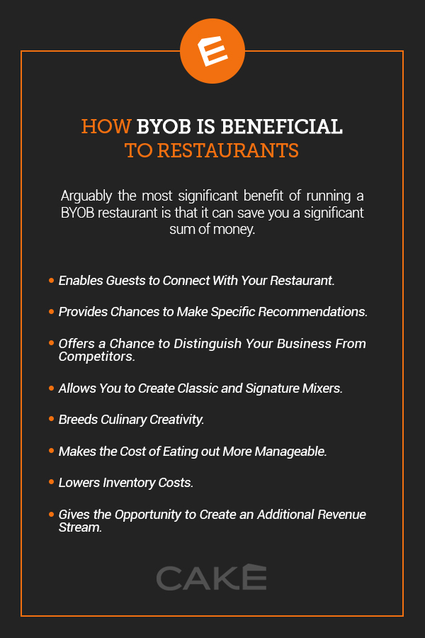 how byob is beneficial to restaurants