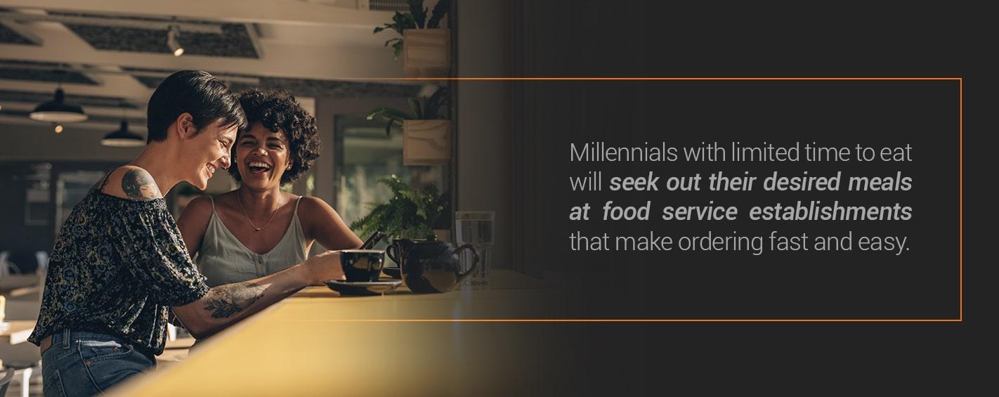 Millennial dining trends