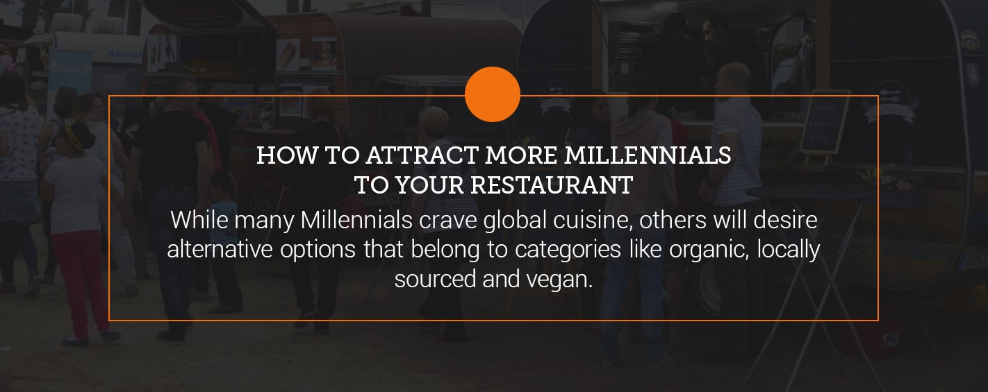 how to attract more Millennials to restaurant