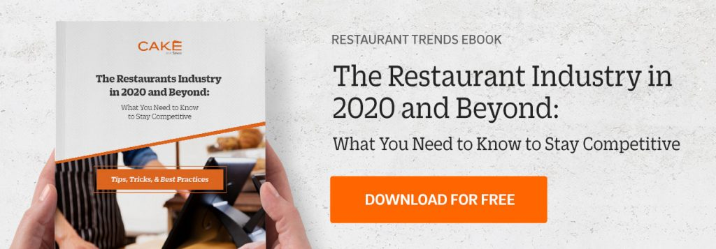 Content download for Restaurant Trends 2020 Guide