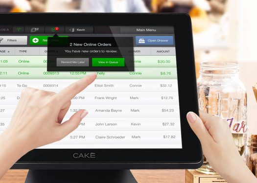 tech-enabled service for online ordering from cake