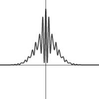 Image of de Broglie matter wave function