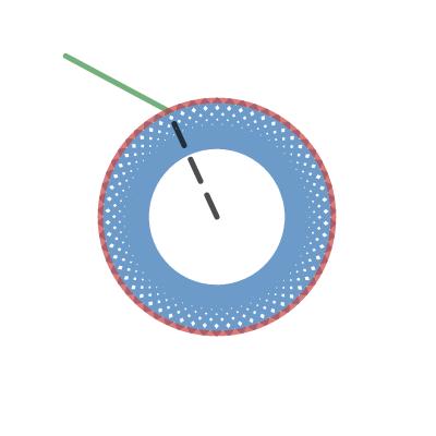 Image of circular mirror
