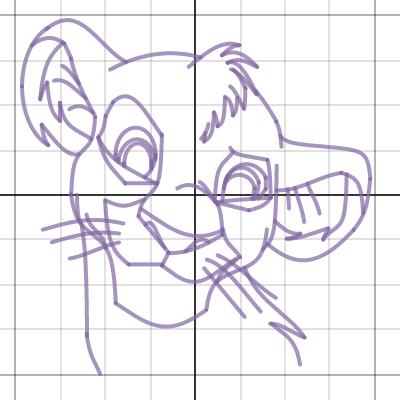 Image of Simba: Drawing