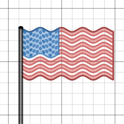 Image of Waving American Flag