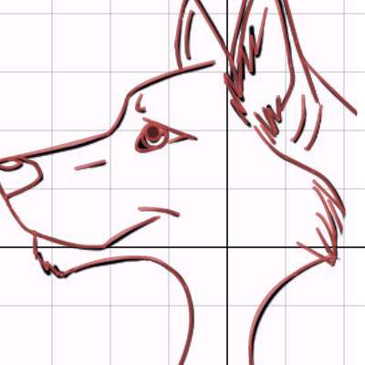 Image of Wolf - Summative Graph Picture (Secret)