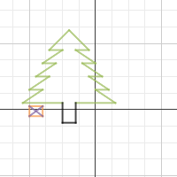 how to make a square on desmos