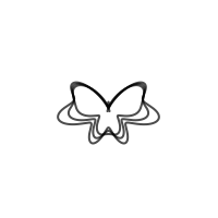 Image of Polar Graph: Majestic Butterfly