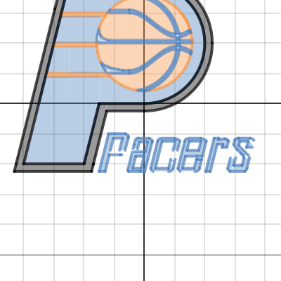 Pacers logo desmos project