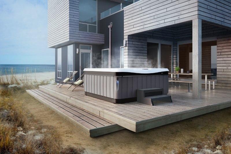 ocean beach front home design ideas for hot tubs spas