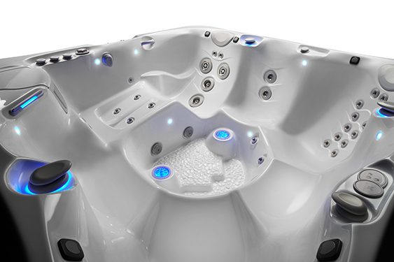 Caldera spas has the best engineered hot tub massage jets in the industry