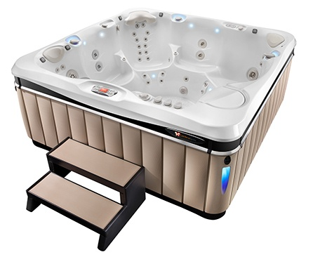 The Caldera Utopia models feature the best luxury hot tub massage jets