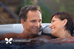 a couple soaks in a hot tub test soak