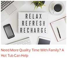 a desktop contains a sign that reads relax refresh recharge