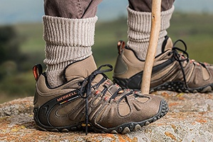 hiking boots demonstrate intensify your workout to improve calorie burn