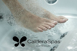 Caldera hot tubs provide the best hot tub foot massage