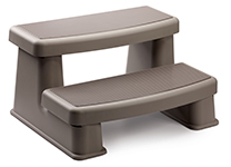 Polymer Best Quality Hot Tub Steps in Coastal Gray Color