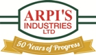 Website for Arpi's Industries Ltd.