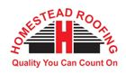 Website for Homestead Roofing Inc.