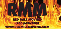 Website for Red Mile Moving Inc.