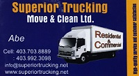 Website for Superior Trucking Move & Clean Ltd.