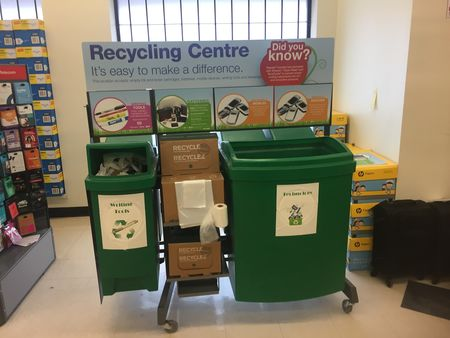 Staples Receives Call2Recycle's 1 Million KG Collection Award