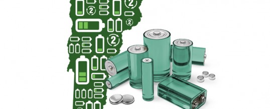Vermont Collects 114,000 Pounds of Batteries for Recycling in 2016