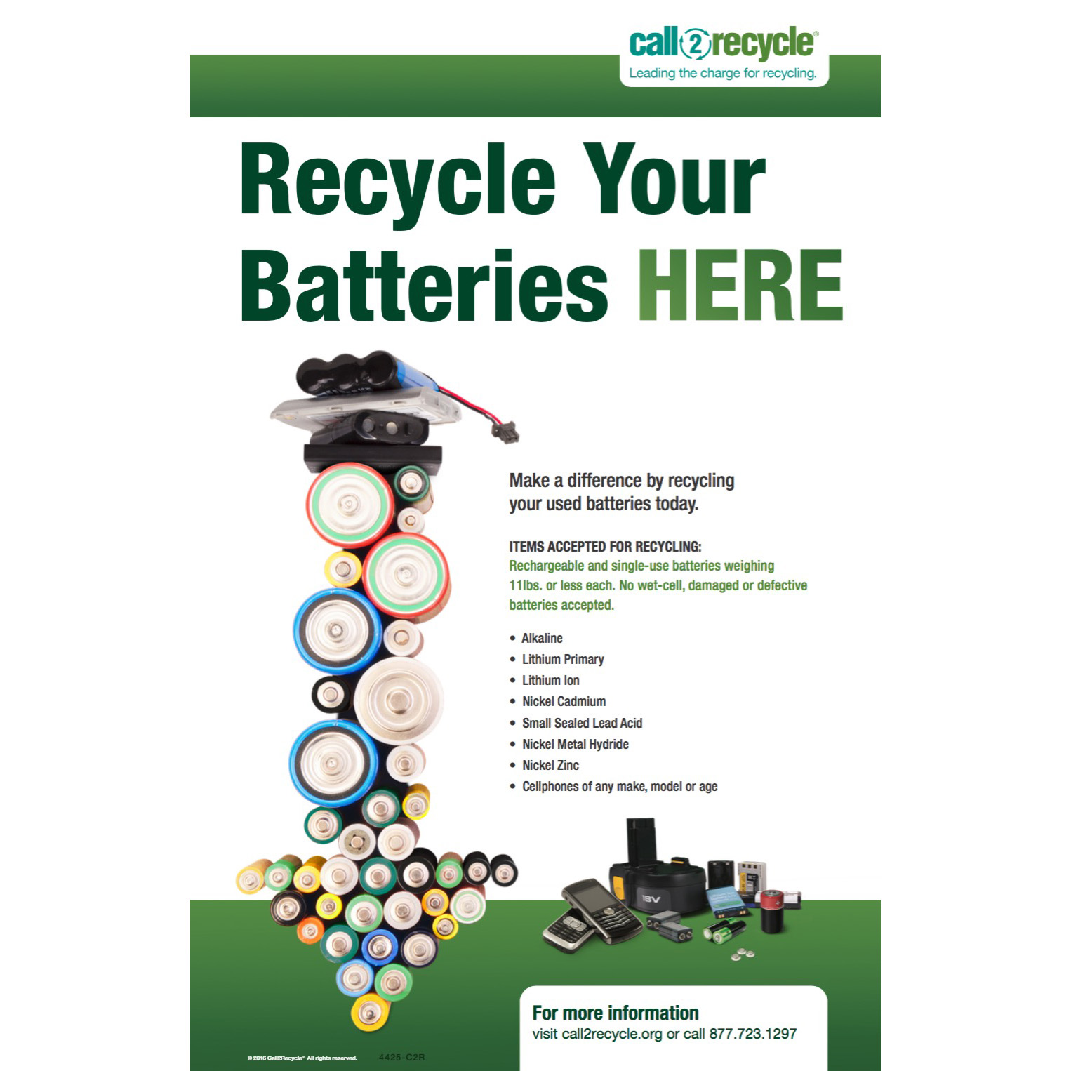 Posters | Call2Recycle | United States