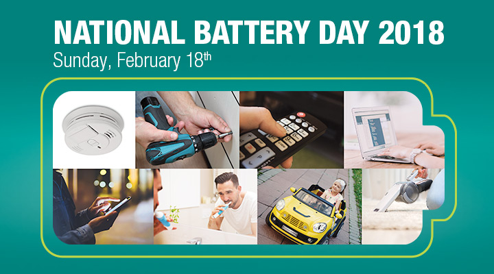 Help Lead the Charge on National Battery Day