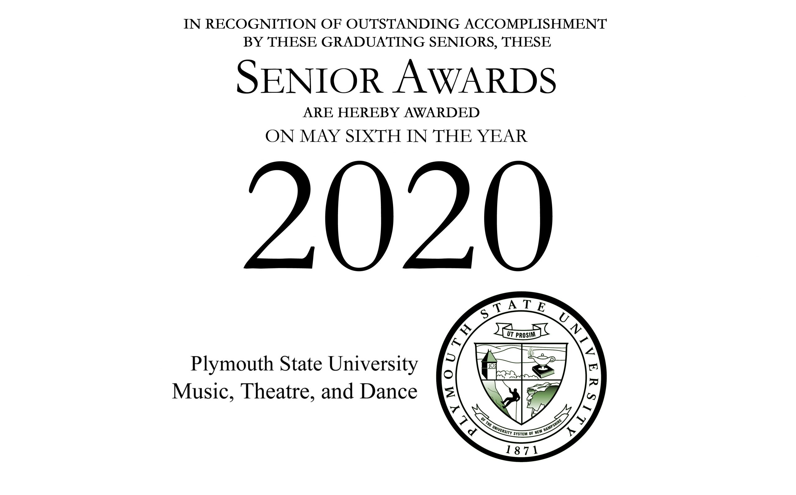 Senior Awards 2020